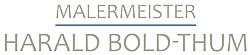 Malermeister Harald Bold-Thum